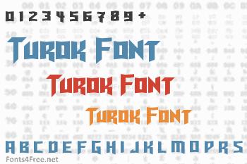 Turok Font