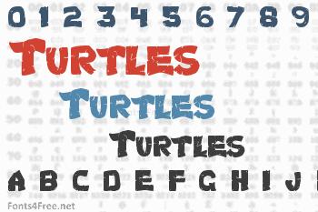 Turtles Font