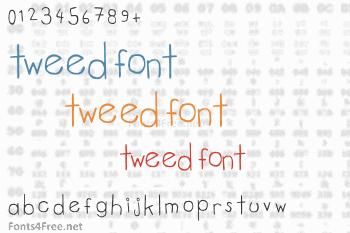 Tweed Font