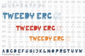 Tweedy Erc 01 Font