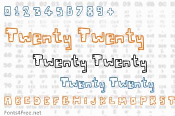 Twenty Twenty Font