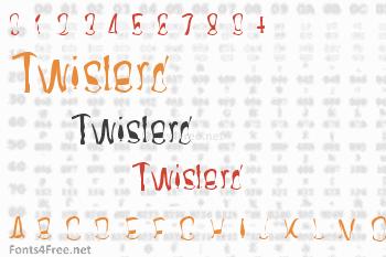 Twisterd Font
