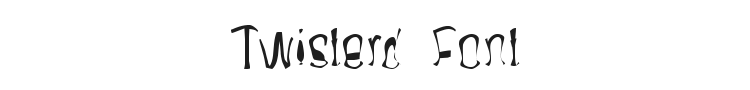 Twisterd Font Preview