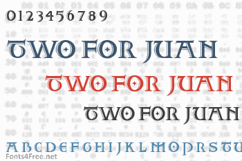 Two For Juan Font