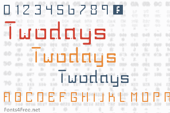 Twodays Font