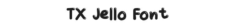 TX Jello Font Preview