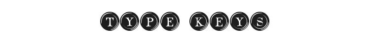 Type Keys Font Preview