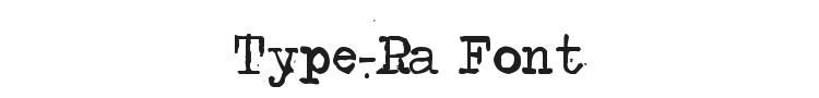 Type-Ra Font