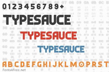 Typesauce Font