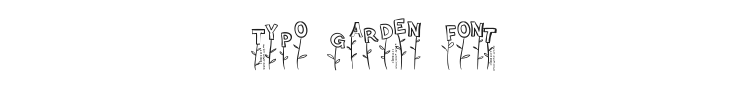 Typo Garden Font Preview