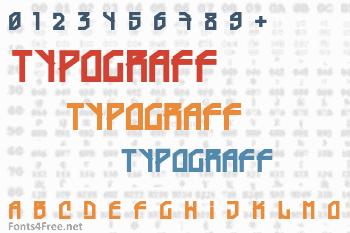 Typograff Font
