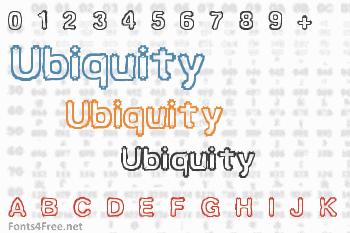 Ubiquity Font