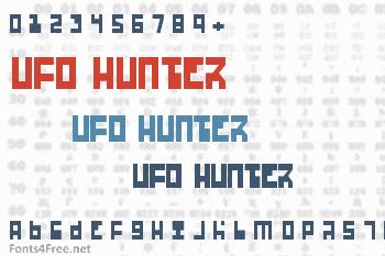 Ufo Hunter Font
