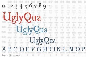 UglyQua Font