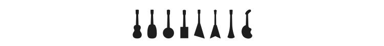 Ukulele Font Preview