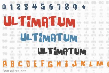 Ultimatum Font