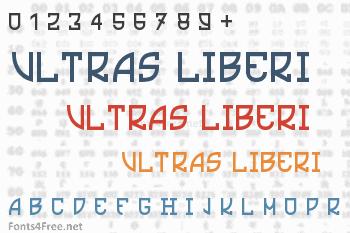 Ultras Liberi Font