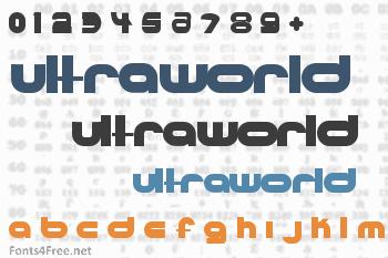 Ultraworld Font