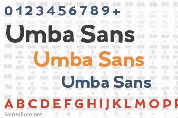 Umba Sans Font