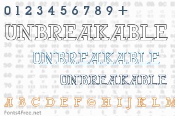 Unbreakable Font