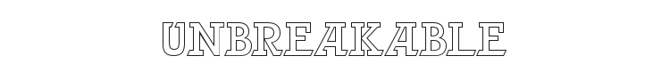 Unbreakable Font Preview