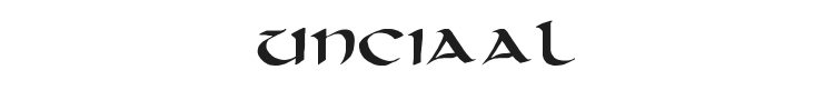 Unciaal Font