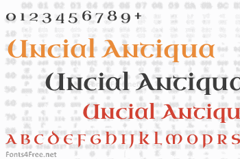 Uncial Antiqua Font