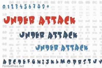 Under Attack Font
