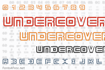 Undercover Font