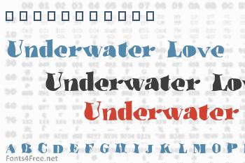 Underwater Love Font