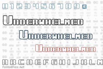 Underwhelmed Font