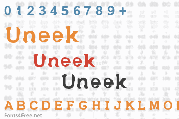 Uneek Font