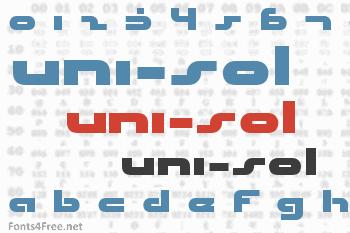 Uni-Sol Font