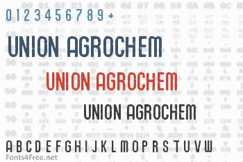 Union Agrochem Font