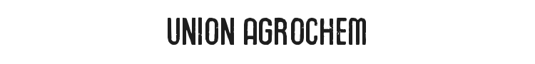 Union Agrochem Font Preview