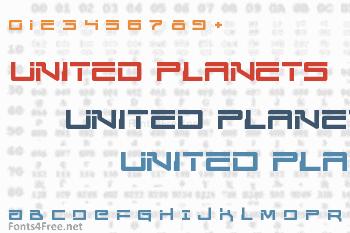 United Planets Font