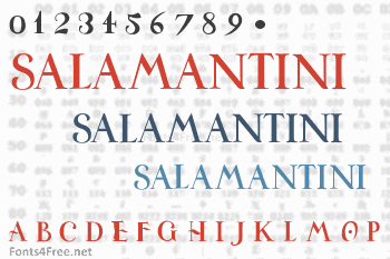 Universitas Studii Salamantini Font