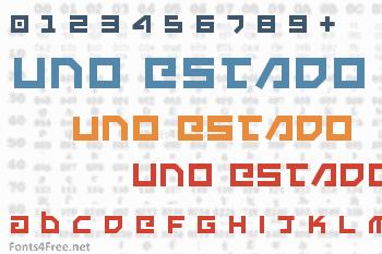 Uno Estado Font