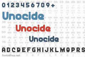 Unocide Font