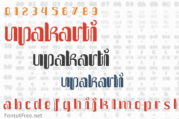 Upakarti Font