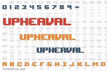 Upheaval Font