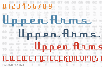 Uppen Arms Font