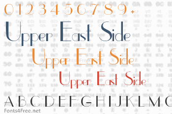 Upper East Side Font