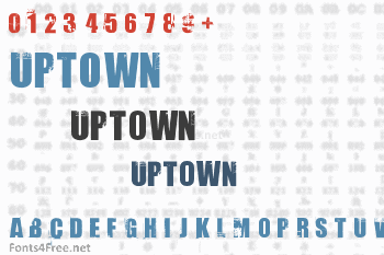 Uptown Font