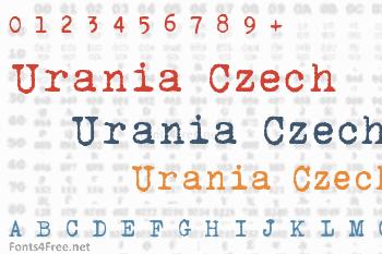 Urania Czech Font