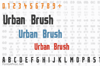 Urban Brush Font