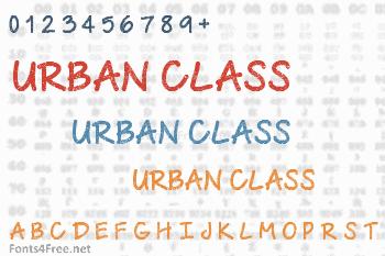 Urban Class Font