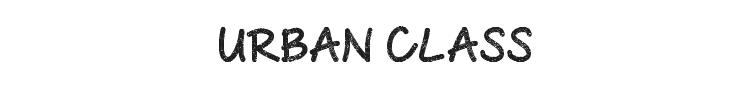Urban Class Font Preview