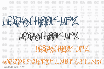 Urban Hook-Upz Font