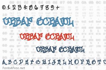 Urban Scrawl Font